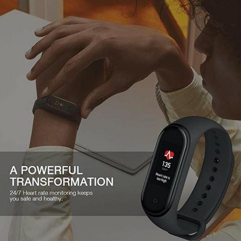 Smartwatch Xiaomi Mi Band 4 Oled Preto Original