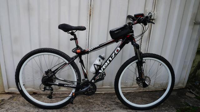 266804381 Bike Venzo Raptor Aro 29 Shimano Acera 27v Freio