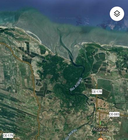 Terreno para fazenda de camarões - 40 hectares de espelho de água -COTA para investidor