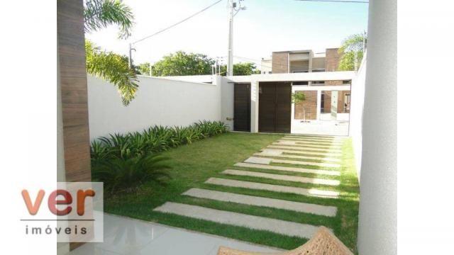 Casa à venda, 146 m² por R$ 404.000,00 - Centro - Eusébio/CE - Foto 8