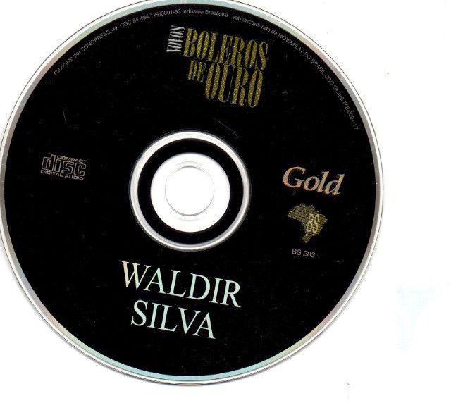 Cd - Novos Boleros De Ouro - Waldir Silva - Foto 3