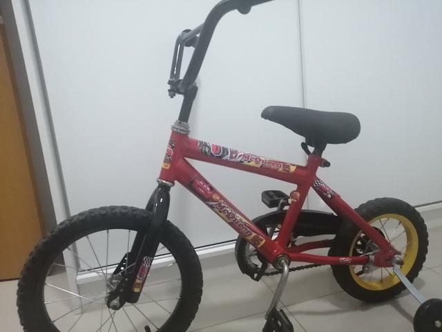 Bicicleta infantil em perfeito estado de conservação Freio pedal