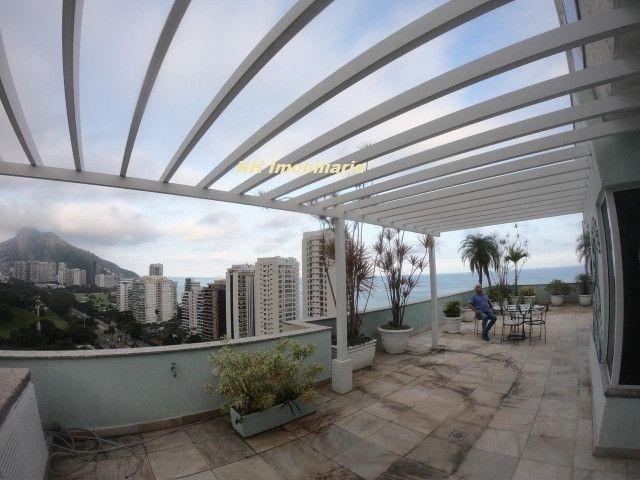 Linda cobr. são Conrado, terraço enorme - Foto 10