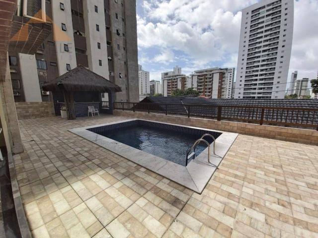 Apartamento com 1 quarto para alugar, 43 m² por R$ 1.599/mês - Boa Viagem - Recife/PE - Foto 13