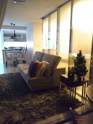 Apartamento no Mareés Residence Meireles com 2 dormitórios à venda, 73 m² por R$ 650.000 - - Foto 19