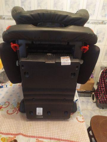 Cadeira marca Infanti modelo cockpit preta. - Foto 3