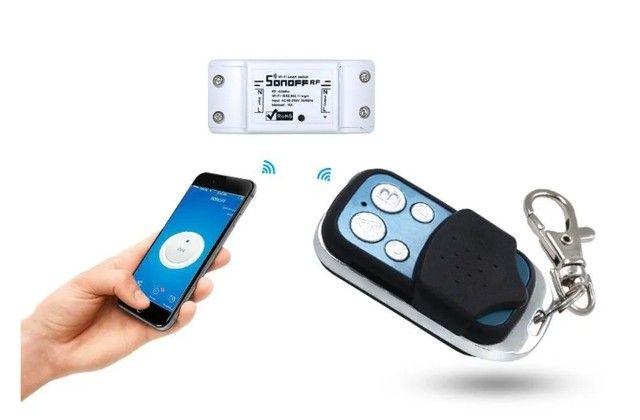 Controle Remoto Sonoff 4ch Pro Wifi 433mhz Sem Fio - Foto 5