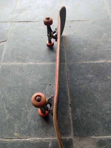 Skate montado peças top - Foto 2