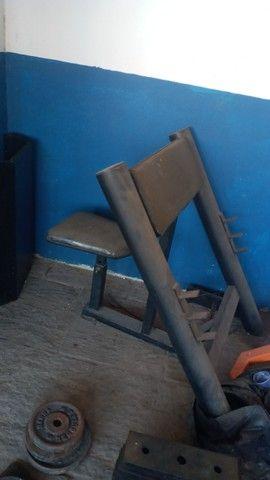 Cadeira Scott de academia