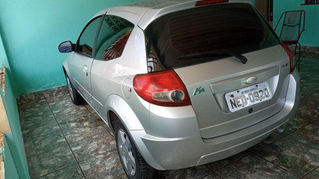 Vende-se um Ford Ka completo de tudo 2009 podendo ser financiado com entrada de 3.000 - Foto 7