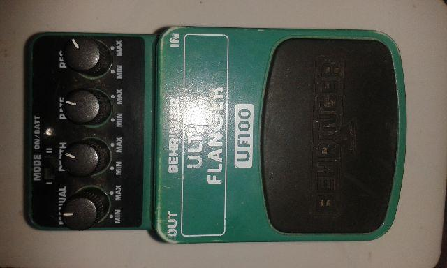 Pedal ultra flanger