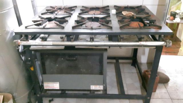 Vendo Fogão Industrial Itajobi