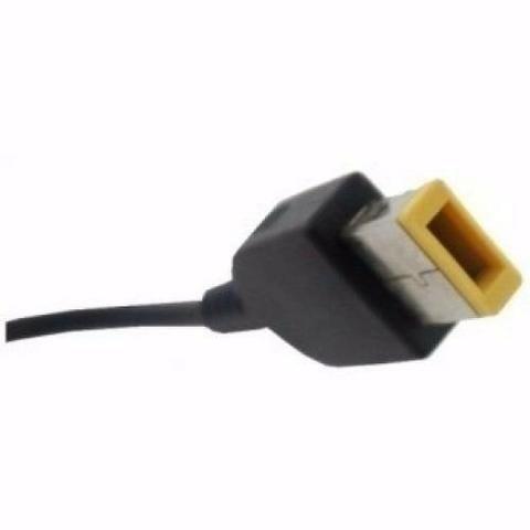 Carregador lenovo plug quadrado compativel - Foto 3