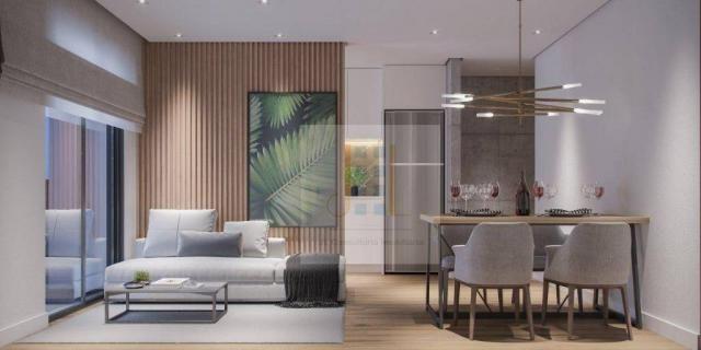 Apartamento com 2 dormitórios à venda, 93 m²- boa vista - curitiba/pr - Foto 3