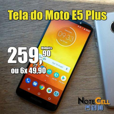 Telas de Moto E5 Plus