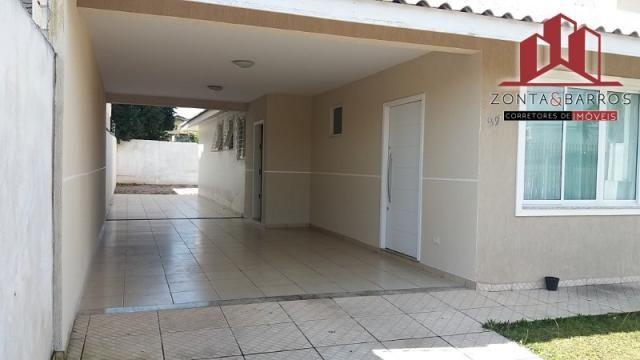 Casa à venda com 3 dormitórios em Nações, Fazenda rio grande cod:CA00099 - Foto 3