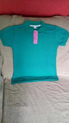 Camisas polo masculina e feminina - Foto 4