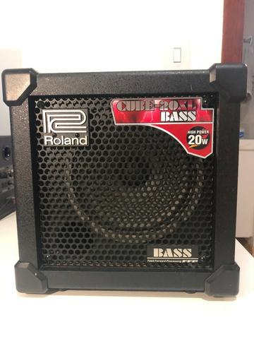 Amplificador Para Baixo Cube-20xl Bass