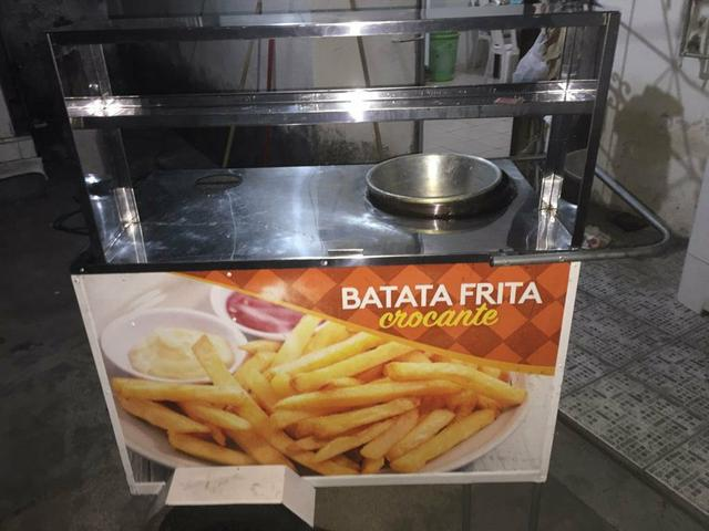 Vende-se Carrinho de lanches para batata frita