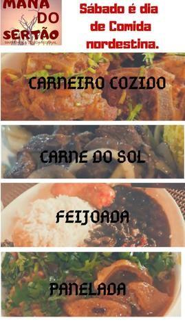 Carne do sol / panelada/ feijoada/carneiro