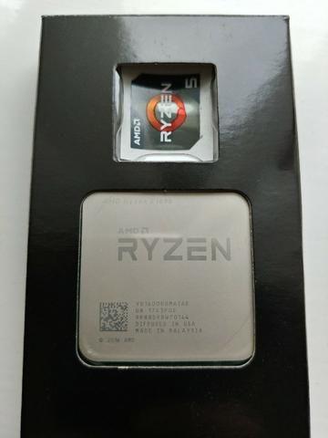 Processador Amd ryzen 5 1600 com cooler, mesmo nível do i7-7700k - Foto 2