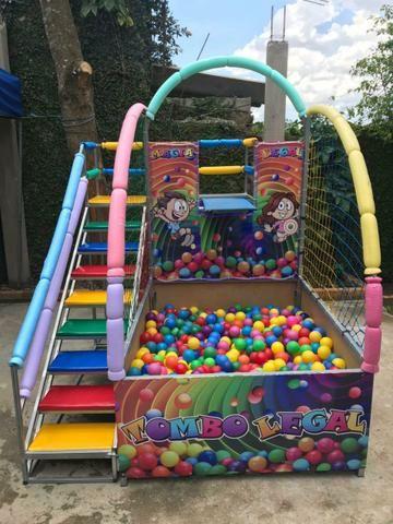 Aluguel de brinquedos,cama elástica/piscina de bolinhas - Foto 3
