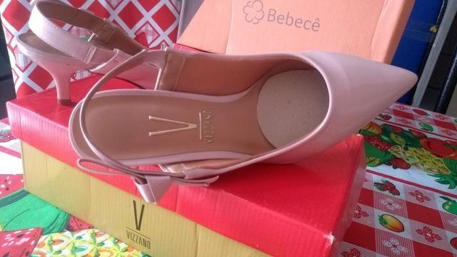Vendo uma linda sandália Vizzano nunca usada - Foto 3