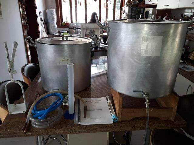 Kit Mini Cervejaria Cervejando 60 litros Top de Linha - Foto 2