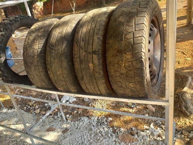 Vendo rodas aro 15 - Foto 2