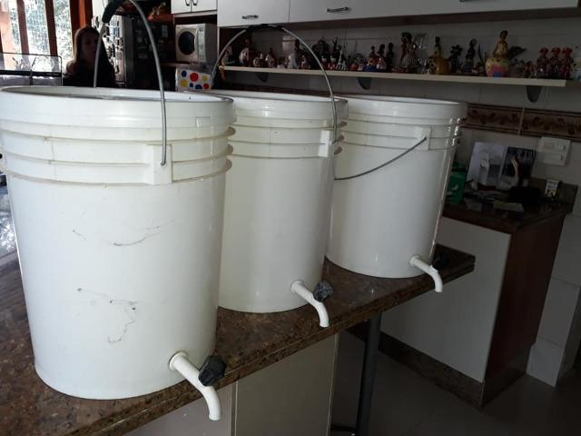 Kit Mini Cervejaria Cervejando 60 litros Top de Linha - Foto 4