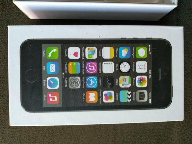 Caixa e Fones iPhone 5S - Foto 3