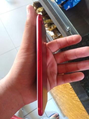 IPhone 7 Red muito novo - Foto 4