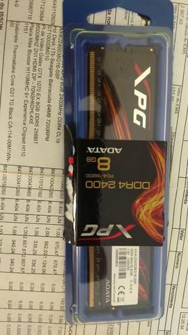 Placa de vidio GTX 1070 8 gb ddr5 + memória xpg 8 gb