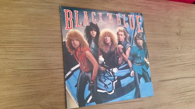 Lp Disco Vinil Black N Blue Idem Hard Rock bon jovi kiss guns n roses skid row motley crue - Foto 2