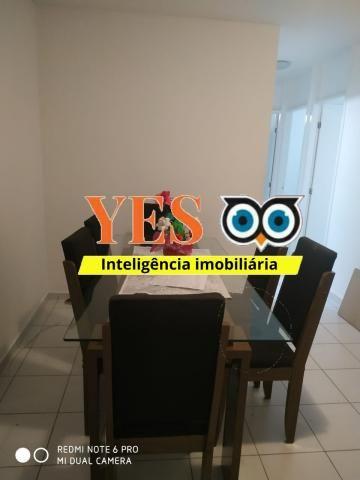 Yes imob - apartamento mobiliado para locação, muchila, feira de santana, 3 dormitórios se - Foto 10