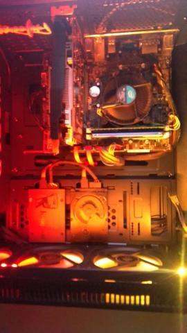 Kit gamer placa mãe placa de vídeo processador i5 8 gb memória ram - Foto 4