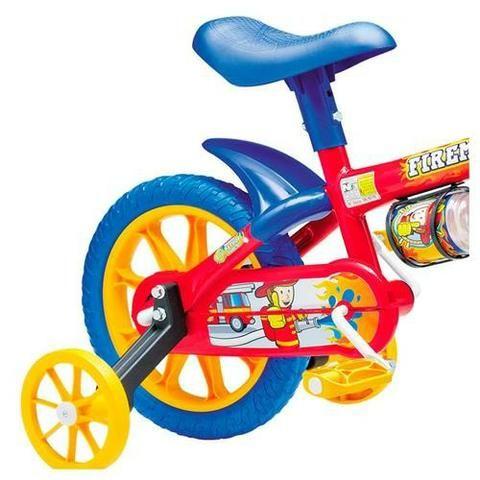 8d8e8e629 Bicicleta infantil aro 12 Fireman Nathor - Artigos infantis - Jardim ...