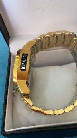 Relógio BVLGARI Serpente a prova d'água - Foto 6