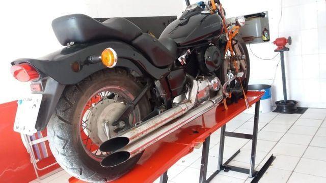 Fabrica de elevadores para motos 350 kg - fabricantes - Foto 6