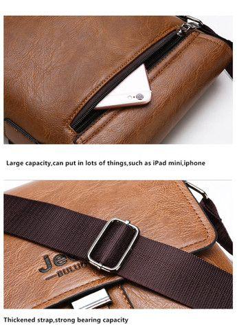 Bolsa e carteira confeccionada em couro PU com a marca JEEP - Foto 3