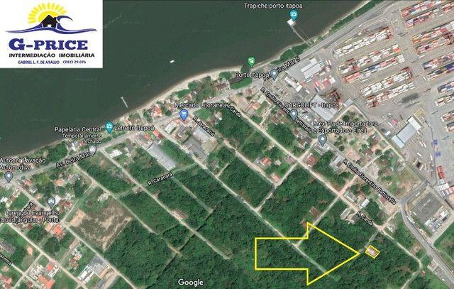 Ótimo terreno Pronto para Construira 400mts do Marao lado do Porto - Itapoá - Foto 2