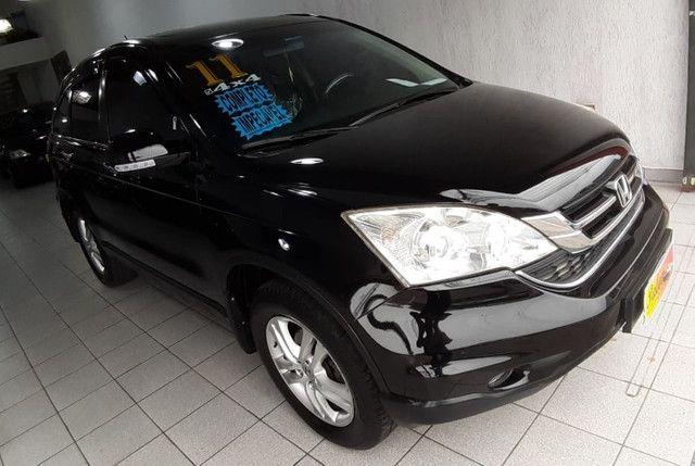 CR-V EXL - 4x4 - Automático + Couro + Teto - 2011 - Parcelas de R$1.118,00