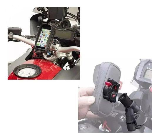 Suporte Givi para Smartphone Iphone 6, 6s, Samsung galaxy S3 - s956bbr - Foto 4
