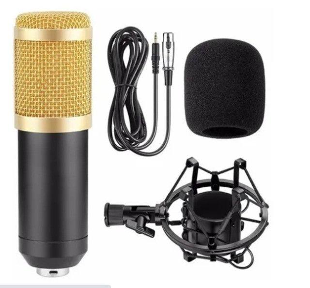 Microfone Estúdio Profissional Condensador Andowl 7451 - Foto 2
