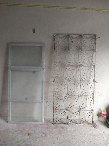 Janelas esquadria de alumínio usada