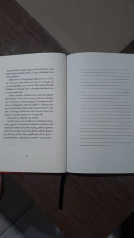Livro novo, A  Arte da Guerra.  - Foto 5