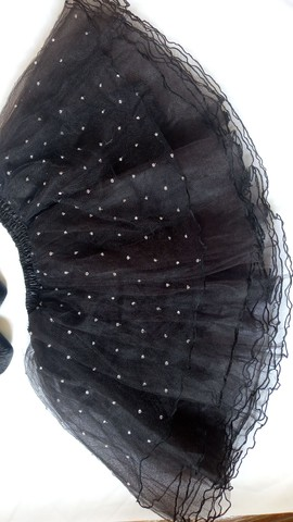 Sapatilha e saia de ballet - Foto 3