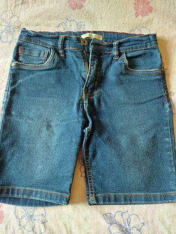 Bermuda de moletom,conjunto de bermuda e camisa Polo, calça e bermudas jeans  - Foto 3