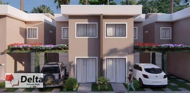 Casa com 2 dormitórios à venda, 80 m² por R$ 225.000,00 - Águas Lindas - Ananindeua/PA