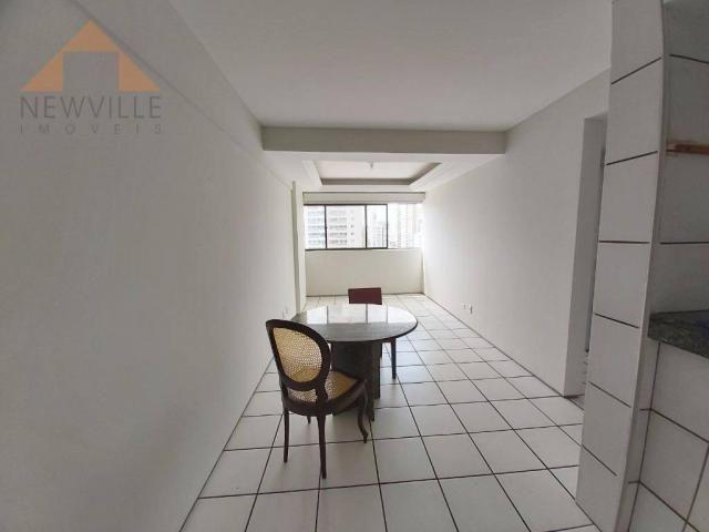 Apartamento com 1 quarto para alugar, 43 m² por R$ 1.599/mês - Boa Viagem - Recife/PE - Foto 4